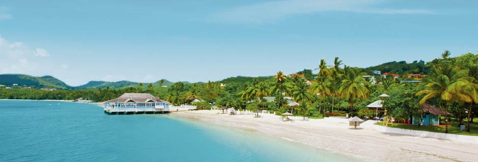 St Lucia exotic beach holidays