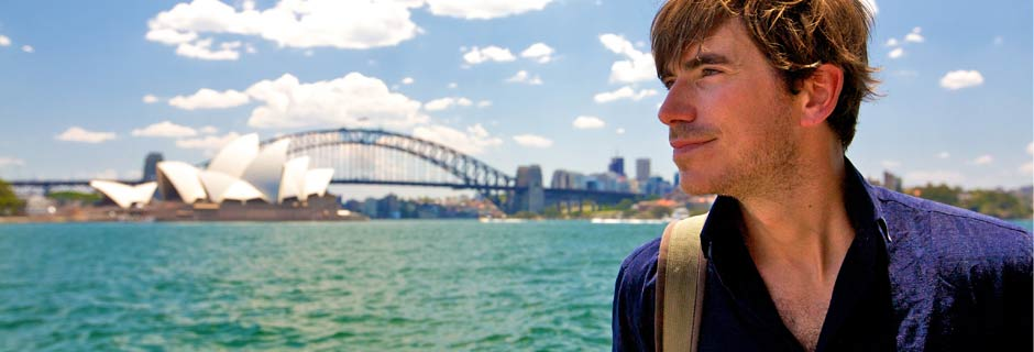 Simon Reeve in Australia