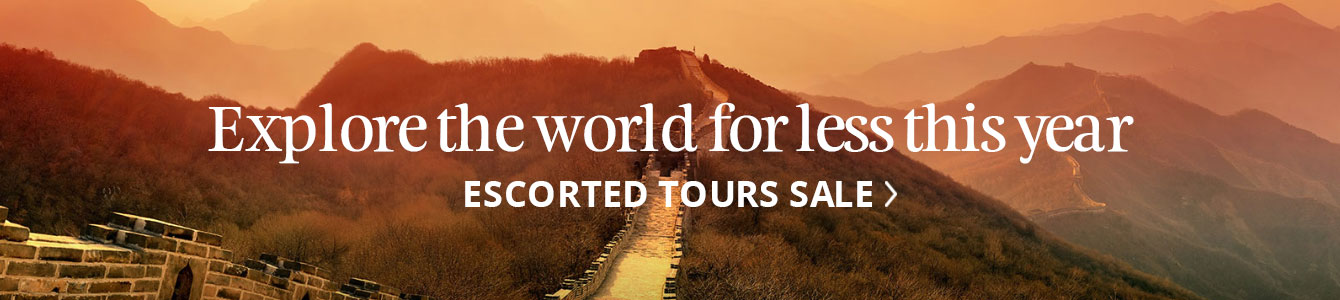 Escorted tour offers