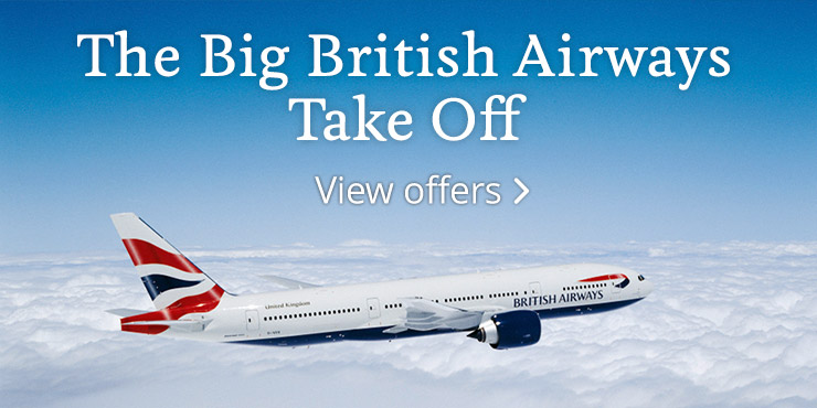 The Big British Airways Take Off