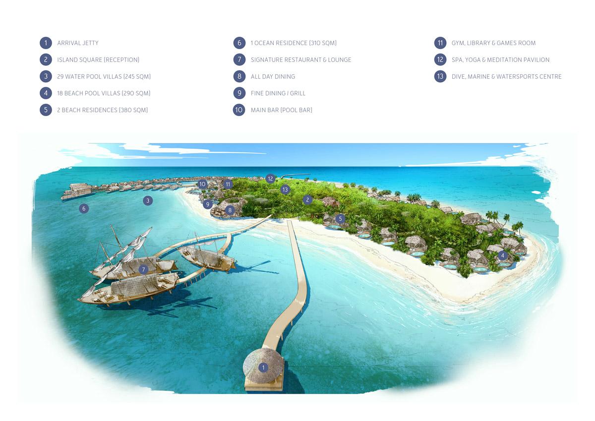 Milaidhoo Island Maldives Map Kuoni Travel