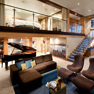 Are these the most luxurious family cabins at sea?