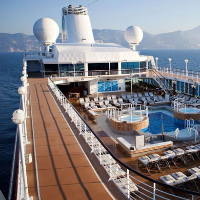 Luxury travel with Azamara Club Cruises