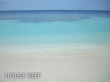 House reef and snorkelling channel