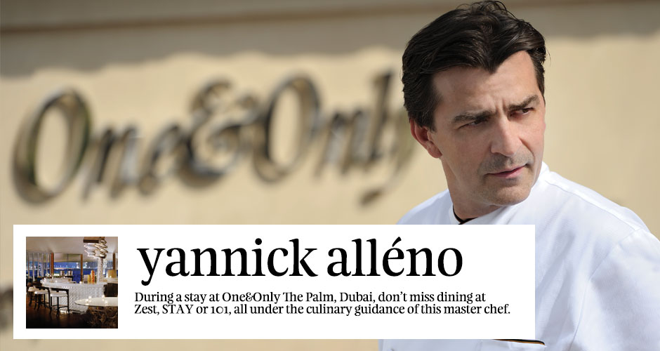 Culinary Star: Interview with Michelin star chef Yannick Alleno