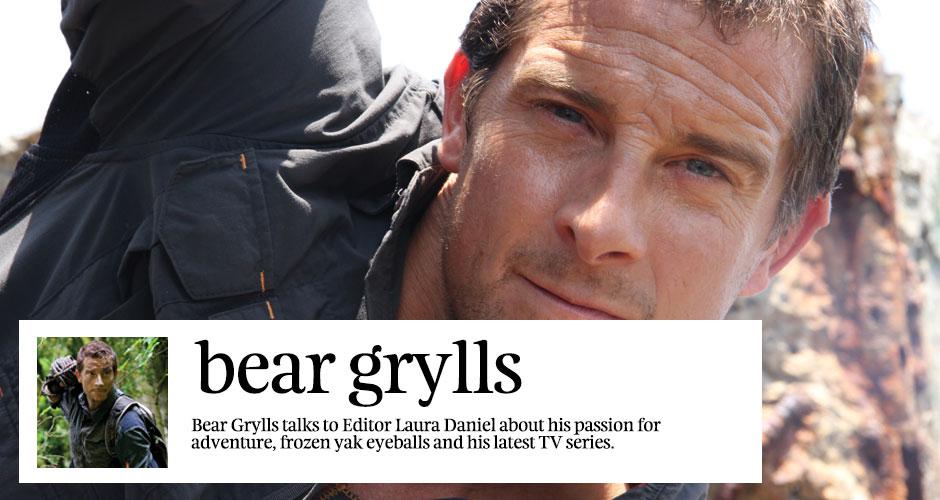 Interview Bear Grylls Born Survivor Kuoni Travel