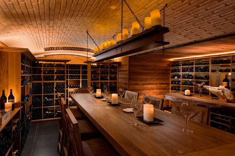 Wine Cellar at Constance Belle Mare Plage