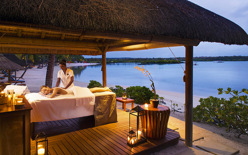 Spa treatment at Constance Prince Maurice