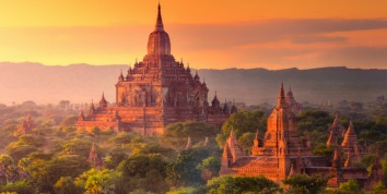 Cruise into the heart of Burma