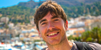 Simon Reeve's Greek family holiday