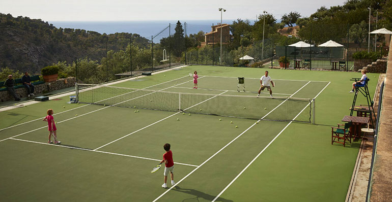 top tennis holidays