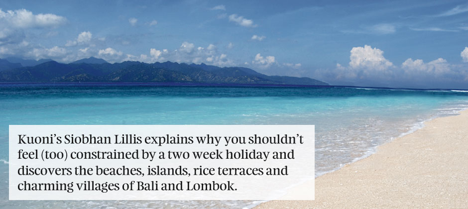 Bali, Lombok & the Gilis: in two weeks