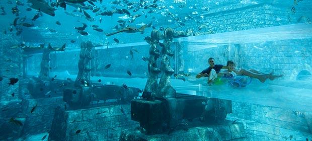Adventure Rides In Aquaventure At Atlantis The Palm