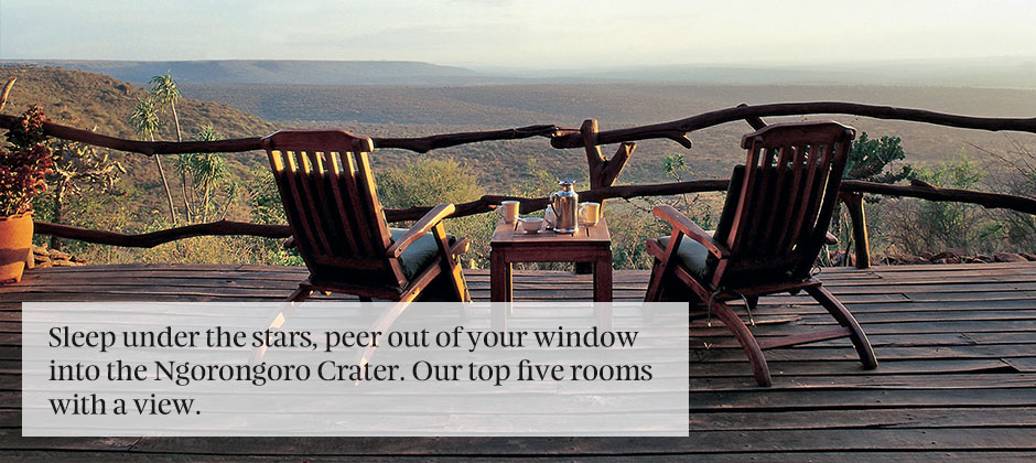 Africa: Rooms with a view