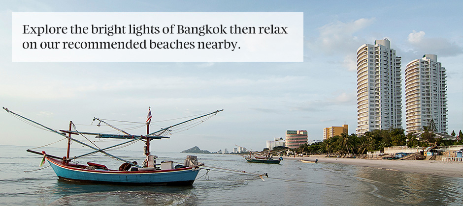 Where to find beaches near Bangkok