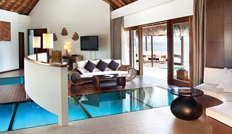 The Maldivesu0027 Glass Floor Villas   Kuoni Travel