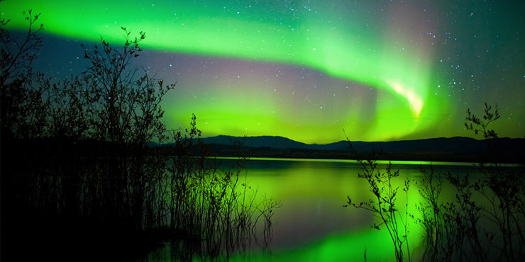 Northern Lights at Yukon Territory