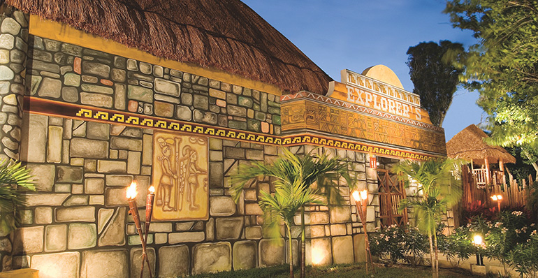 Mayan-themed Explorer's Club, Dreams Tulum Resort & Spa