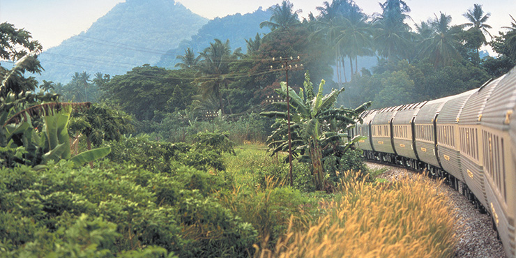 Travel through three countries onboard the Eastern & Oriental Express