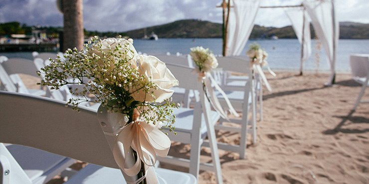 Wedding at St James's Club Morgan Bay Saint Lucia