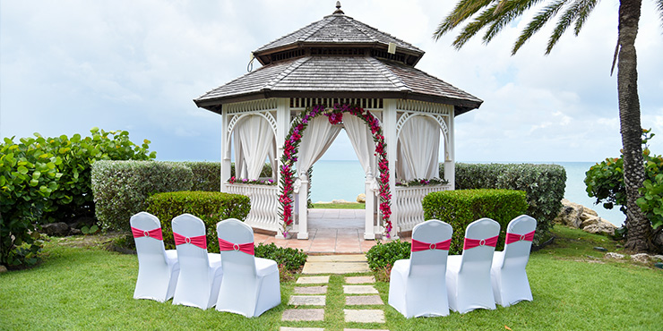 Wedding at Blue Waters & The Cove Suites, Antigua