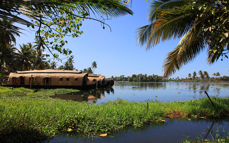 Houseboat on Kerala's backwaters