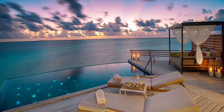 Baros is perfect for a luxury wedding in the Maldives