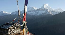 Sarah Abbott - Climbing high in Nepal