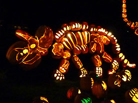 These pumpkin displays will leave you speechless