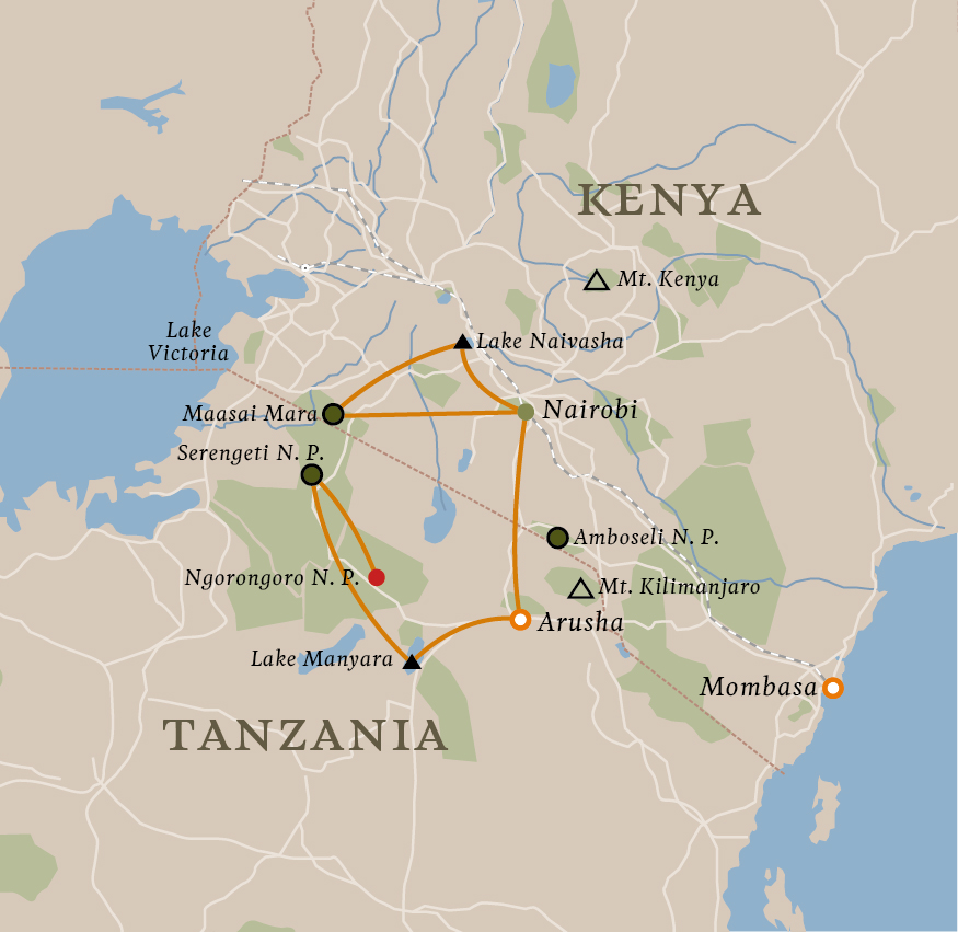 Kenya Amp Tanzania Safari A Safari From Kuoni Travel