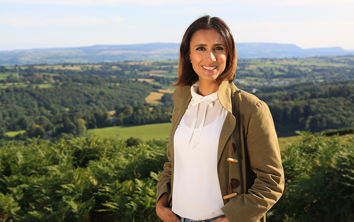 Lunch with Anita Rani