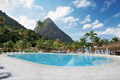 Saint Lucia's Twin Pitons