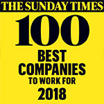 The Sunday Times' 100 Best Companies to Work For