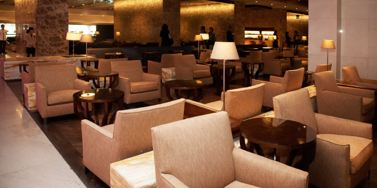 Singapore Airlines' airport lounges