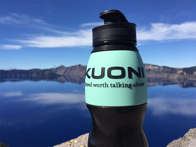 Kuoni Water-to-go bottle