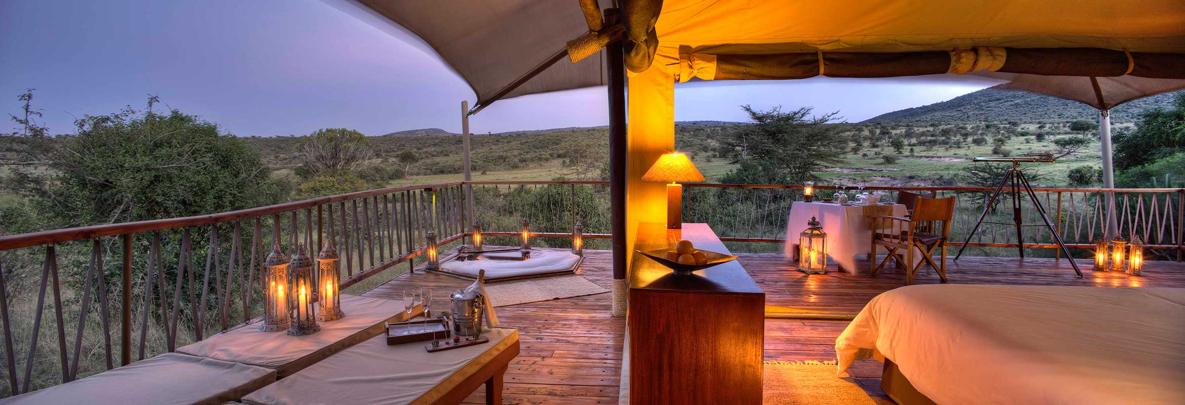 Tented camp safaris