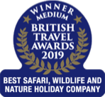 Winner Best Safari, wildlife and nature holiday company