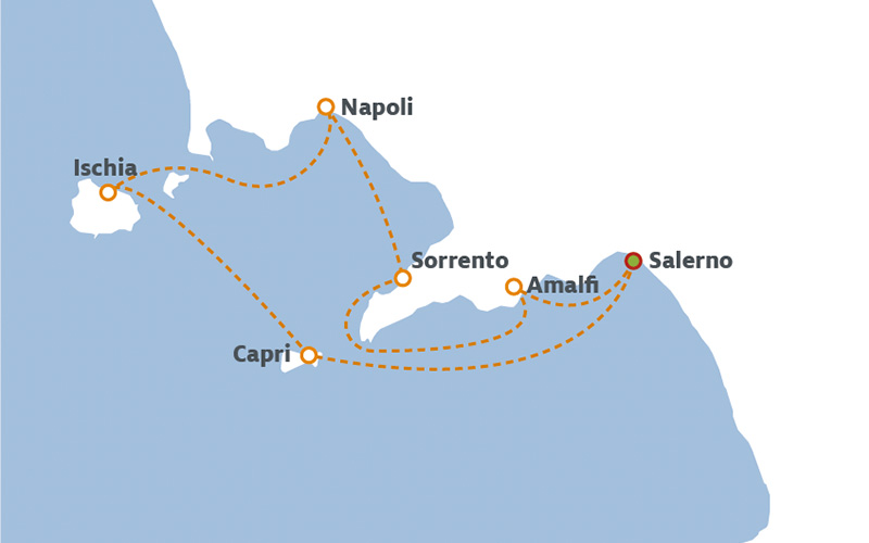 Sailing The Amalfi Coast
