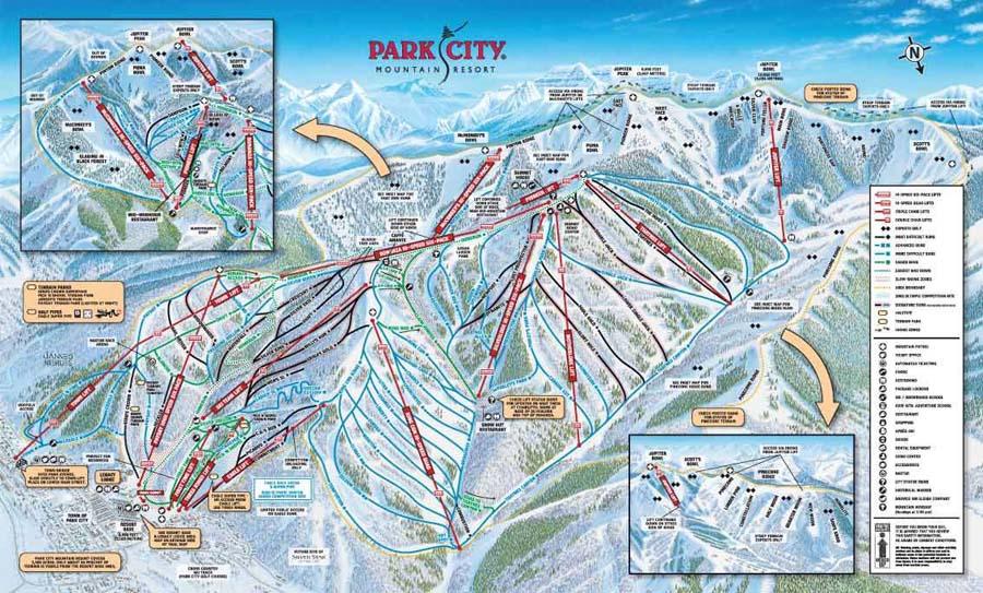 Skiing In Park City Mountain Resort Kuoni Ski Holidays